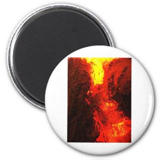 Anti oxidado del metal del extracto del humo de la imán redondo 5 cm