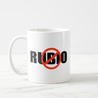 ANTI-RUBIO TAZA DE CAFÉ