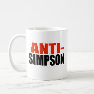 ANTI-SIMPSON TAZAS DE CAFÉ