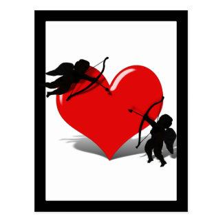 Anti-Tarjeta del día de San Valentín - el duelo de
