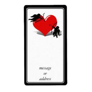 Anti-Tarjeta del día de San Valentín - el duelo Etiqueta De Envío