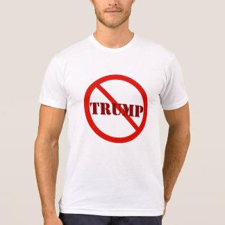 Anti-Triunfo rojo redondo 2016 de Donald Trump de Camiseta