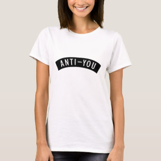 Anti-usted camiseta Tumblr