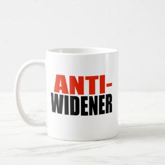 ANTI-WIDENER TAZAS DE CAFÉ