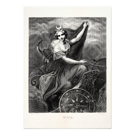 Baños Griegos Antiguos:Tarjetas Diana Diana