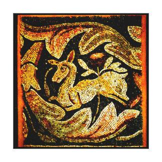 Antílope bizantino lienzo