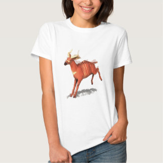 Antílope del bongo camiseta