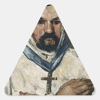 Antoine Dominique Sauveur Aubert Pegatina Triangular