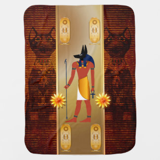 Anubis, dios egipcio antiguo mantita para bebé