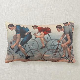 Anuncio 1896 de Lithos de la bicicleta Cojín Lumbar