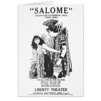 Anuncio 1919 de la película muda de Theda Bara