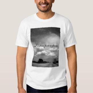 Anuncio Astra por Aspera Camiseta