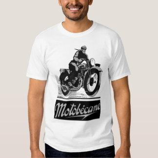 Anuncio de la motocicleta de Motobecane Motobécane Camisas