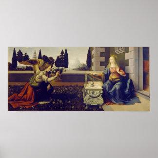 Anuncio de Leonardo da Vinci Póster