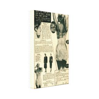 Anuncio del vintage de la Delgado-UNO-Cintura Impresiones En Lona