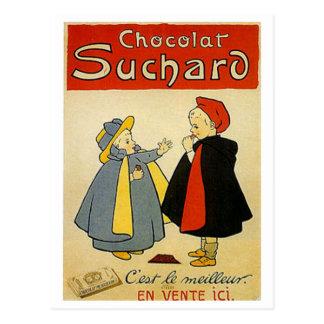 Anuncio del vintage de Suchard 2 del chocolate Postal