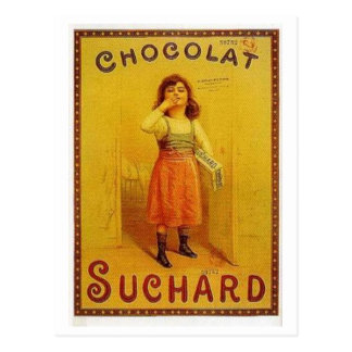 Anuncio del vintage de Suchard del chocolate Postal