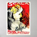 Anuncio del vintage del ~ de Scala Enfin Seuls Poster
