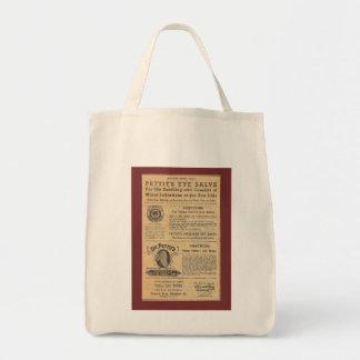 Anuncio del vintage para Salve Grocery Tote del Bolsa Tela Para La Compra