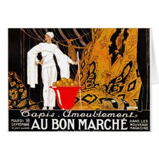 Anuncio francés 1922 de la alfombra