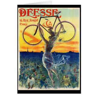 Anuncio retro 1898 de la bicicleta