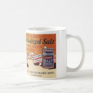 Anuncio Washington, Iowa de la sal del vintage Taza De Café