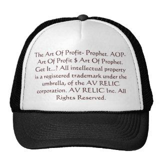 AOP de AV RELIC Inc. el arte del beneficio/del pro Gorro