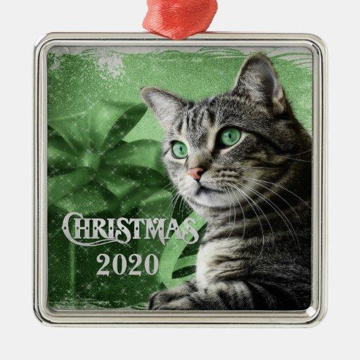 APAL - 2013 navidad platea el gato de Tabby Ornaments Para Arbol De Navidad