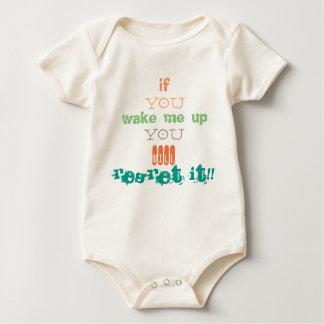 Aparel unisex del bebé body para bebé