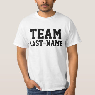 Apellido del EQUIPO (apellido) Camiseta