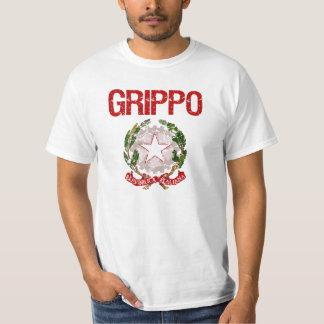Apellido del italiano de Grippo Camisetas