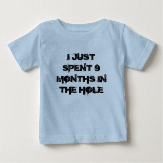 Apenas 9 meses gastados en la camisa del agujero
