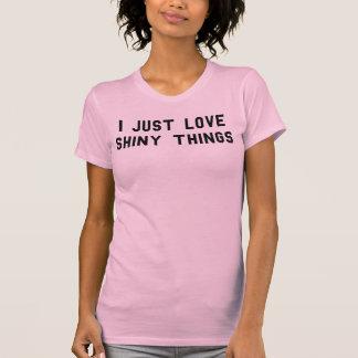 Apenas amo la camiseta brillante Tumblr de las