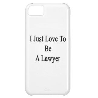 Apenas amo ser abogado