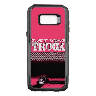 APENAS camión de la IMPULSIÓN: Señora ROSADA Funda Commuter De OtterBox Para Samsung Galaxy S8+