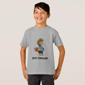 Apenas camiseta del loro de la isla de Chillin