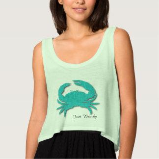Apenas camisetas sin mangas con playas de la