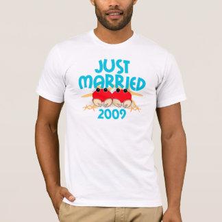 Apenas casado 2009 camiseta