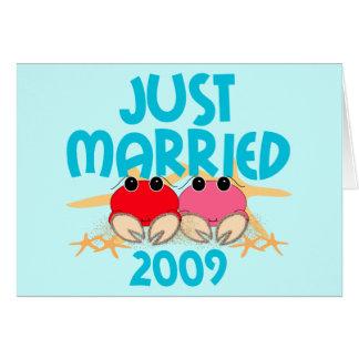 Apenas casado 2009 tarjetas