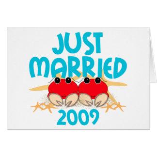 Apenas casado 2009 tarjetón