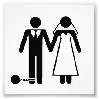 Apenas casado, bajo nueva gestión impresion fotografica