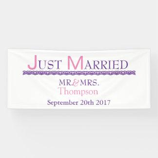 Apenas casado lona