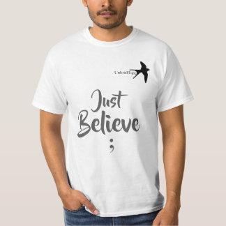 Apenas crea la esperanza superior unisex de Unlost Camiseta