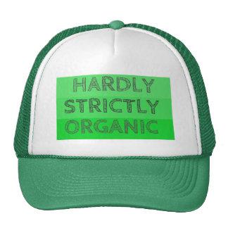 Apenas estrictamente orgánico gorras