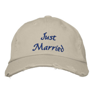 Apenas gorra casado