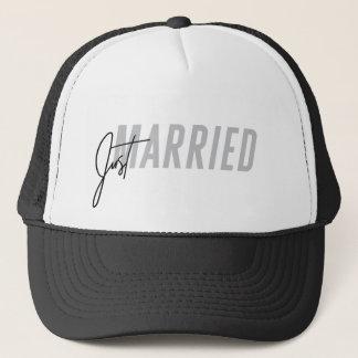 Apenas gorra casado para él gorra del recién
