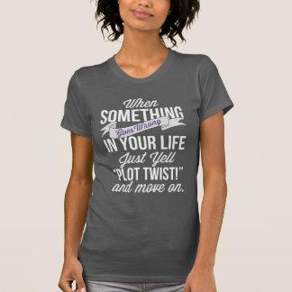 """Apenas grito """"torsión del diagrama!"""" Y movimiento Camiseta"""