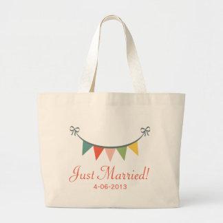 Apenas la bolsa de asas personalizada casada