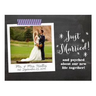 Apenas la postal casada de la invitación le agrade