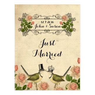 Apenas las postales casadas le agradecen